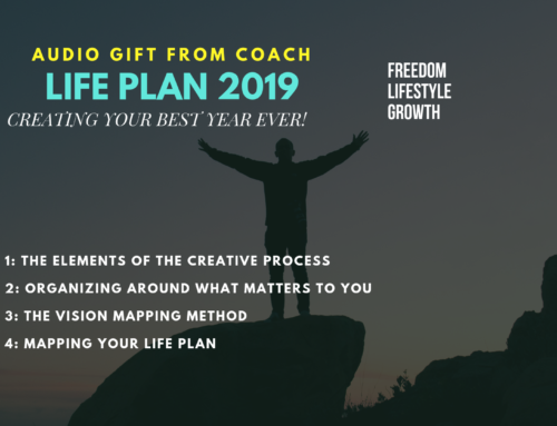 AUDIO GIFT: Building a 2019 Life Plan Using the Creative Process