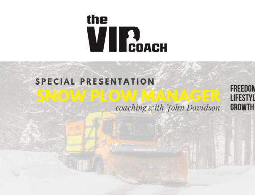 Becoming a Snow Plow Manager